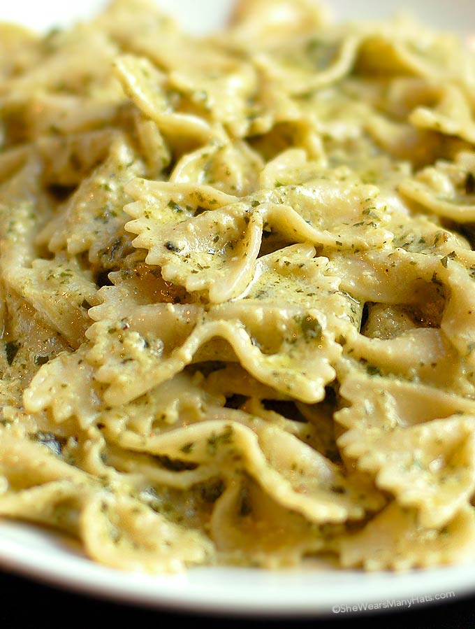 Creamy Pesto Pasta Recipe