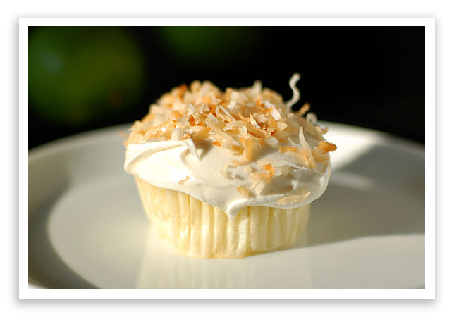 Key Lime Cupcakes with Coconut Buttercream