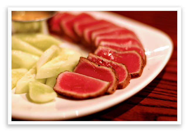 Seared tuna outback recipe