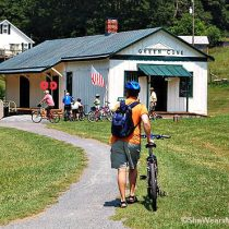 biking the virginia creeper trail