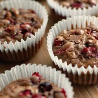 Cranberry Pistachio Chocolate Muffins Recipe