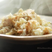 Chicken and Rice Recipe | shewearsmanyhats.com