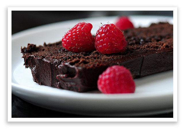 Dressy Chocolate Loaf Cake