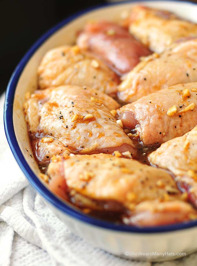 Honey soy baked chicken thighs recipe forumfinder Choice Image
