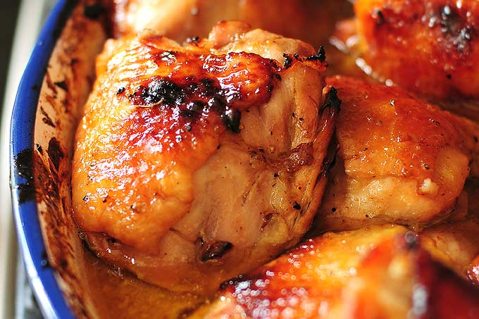 Honey soy baked chicken thighs recipe honey soy baked chicken thighs recipe shewearsmanyhats forumfinder Image collections