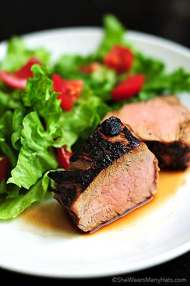 Grilled Pork Tenderloin recipe