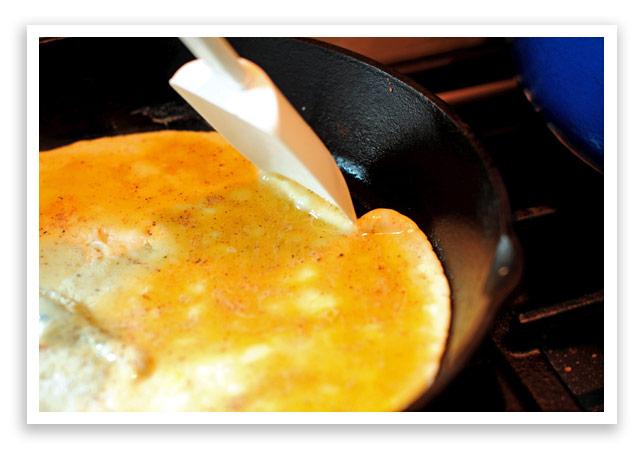 Open Faced Omelet Recipe