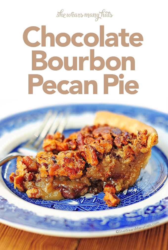 This Chocolate Bourbon Pecan Pie is a southern favorite that takes an ...
