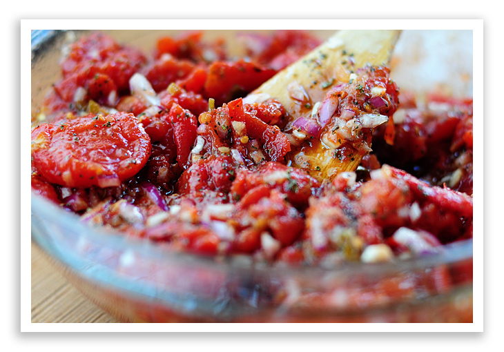 Roasted Tomato Bruschetta Recipe