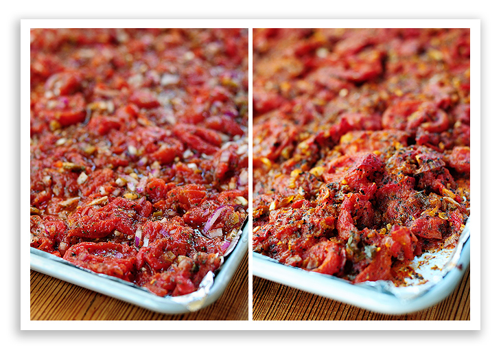 Roasted Tomato Bruschetta