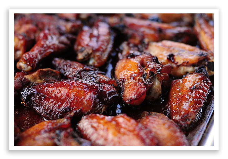Super Bowl Appetizer Roasted Chicken Wings
