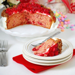 Sweetheart Cherry Cake from TidyMom