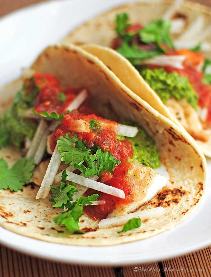 Fish tacos recipe for Side dishes for fish tacos