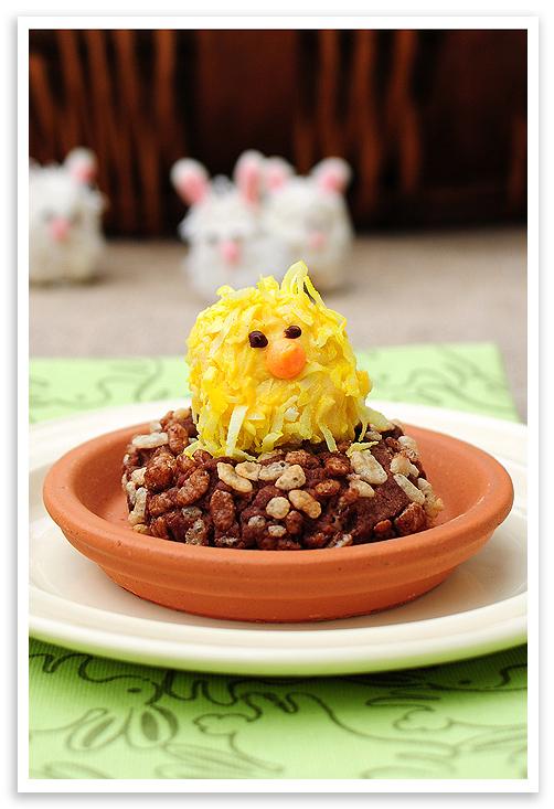 Spring Rice Krispie Treats