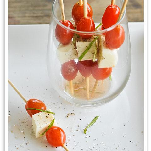 Caprese Salad Kabobs Recipe