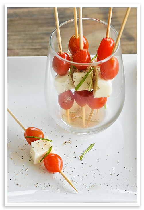Side dish idea #3: Caprese salad on a stick | Last Rick's Resort