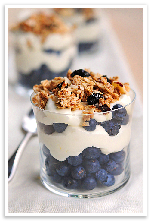Fruity Tofu Parfait With Granola Recipes — Dishmaps