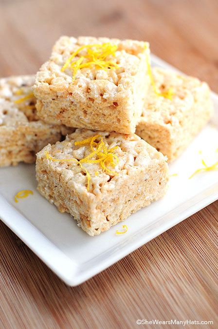 Lemonade Rice Krispies Treats Recipe