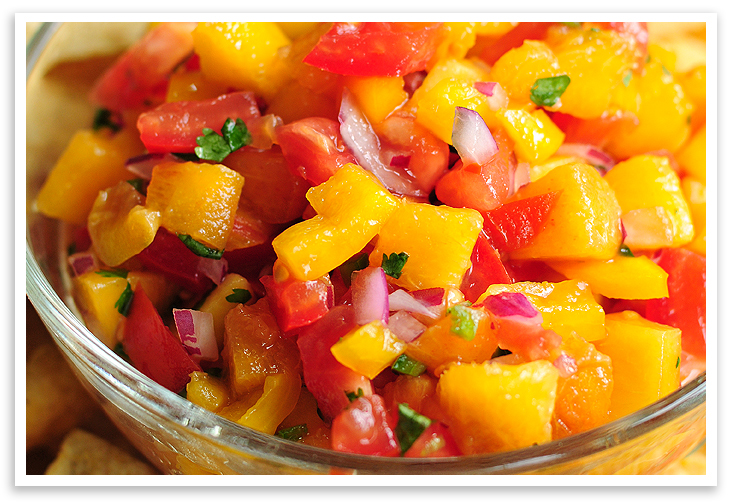 Peach Salsa Recipe — Dishmaps