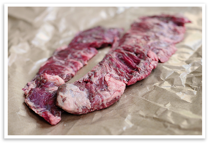 How to cook beef loin skirt steak