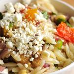Roasted Vegetable Orzo Salad Recipe