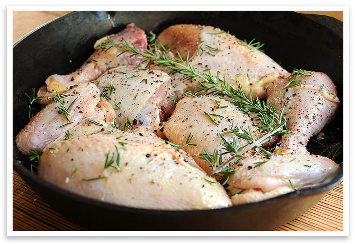 Basic Roasted Chicken