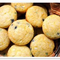 Cheddar Jalapeno Cornbread Muffins