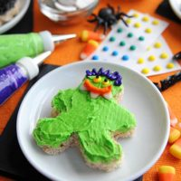 Halloween Rice Krispies Treats