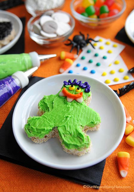 Fun Halloween Rice Krispie Treats Recipe