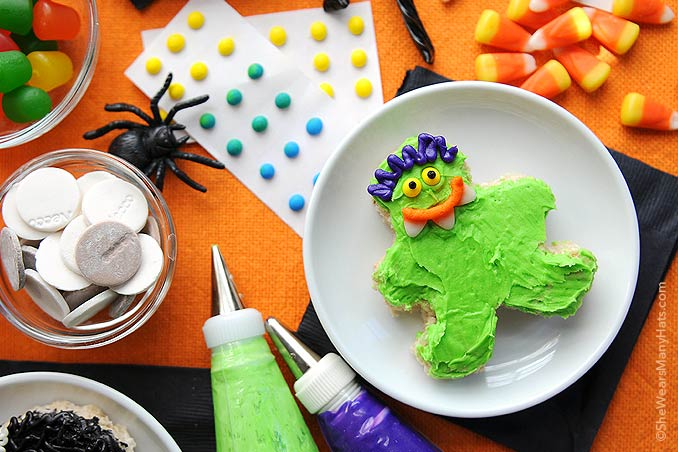 Fun Halloween Rice Krispies Treats Recipe