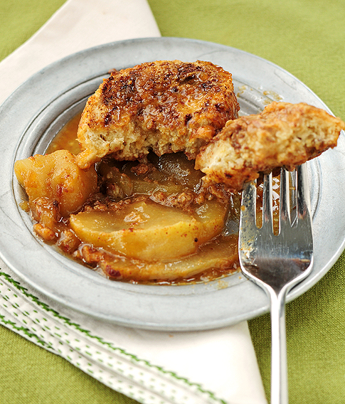 Apple Bourbon French Toast Casserole