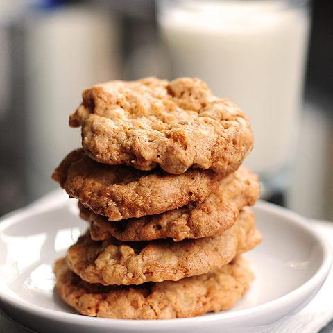Walnut Butterscotch Cookies