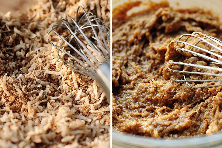 Grain-free Chocolate Coconut Mini Muffins Recipe | shewearsmanyhats.com