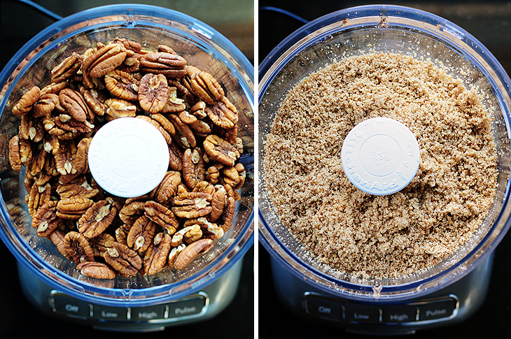 how to make pecan meal