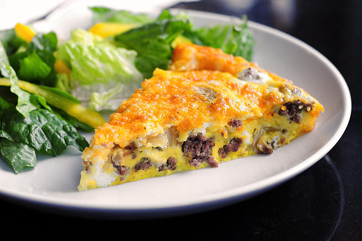 Cheeseburger Frittata