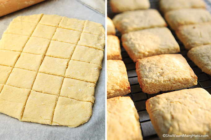 Citrus Tea Biscuits Recipe