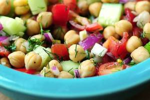 Cucumber Chickpea Salad Recipe
