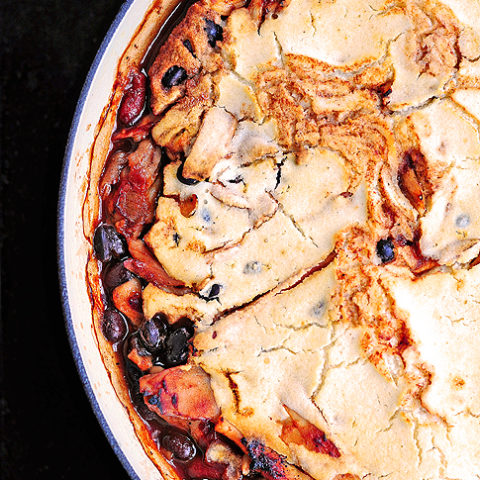 BBQ Chicken Pie