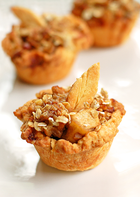 Sep 21,  · Mini Apple Pies Recipe I love mini food. With the size of my sweet tooth, one bite desserts don't usually cut it. But if you're looking to watch portion size, these mini apple pies are a great way to enjoy apple pie without quite as many trueffil983.gqgs: 6.