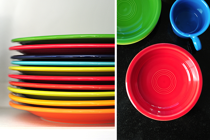 so as i found a coupon or sale here and there i gradually began purchasing 4piece place settings when randy and my parents asked what i wanted for - Fiestaware Sale