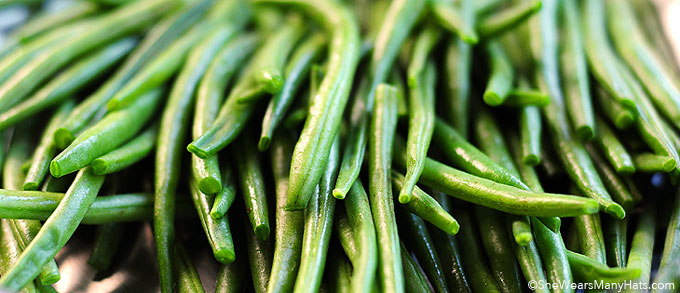 Green Beans Can