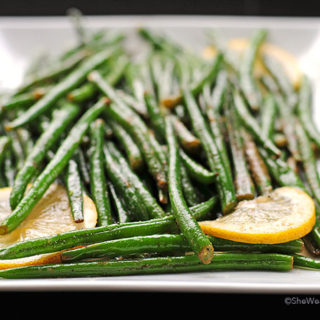 Garlic Lemon Green Beans Recipe