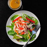 Simple Honey Mustard Salad Dressing Recipe