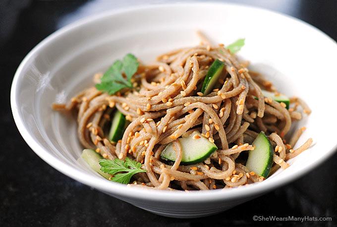 Soba Wasabi Noodles Recipe