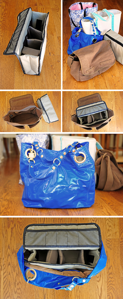 Convert a Tote into a Camera Bag