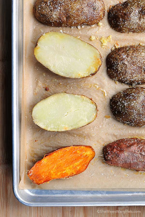 Easy quick baked potato recipe