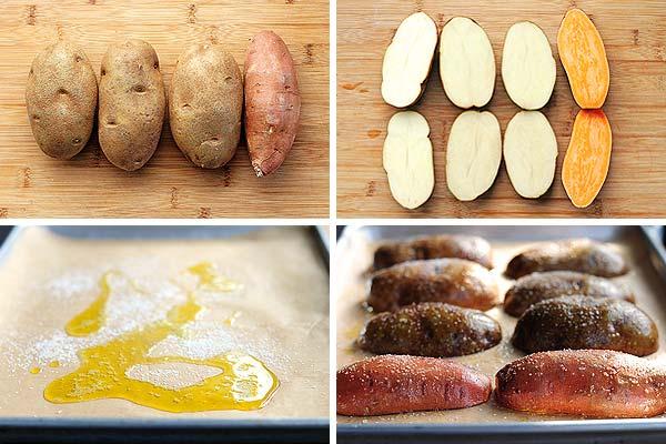 how to bake a potato photo