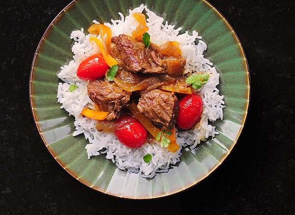 Coconut Curry Beef