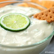Easy Lime Pie Dip Recipe shewearsmanyhats.com