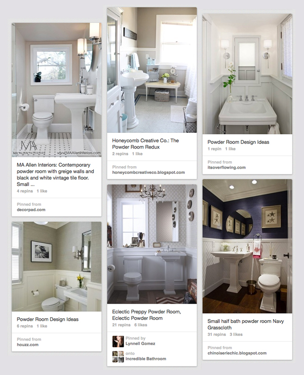Room Redo Ideas color my powder room - part 1